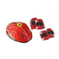 Saica - Set accesorii protectie bicicleta role trotineta Ferrari