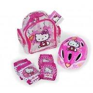 Saica - Set protectii bicicleta trotineta Hello Kitty