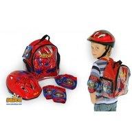 Saica - Set protectii copii bicicleta trotineta role Spiderman