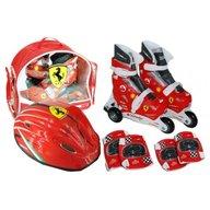Saica - Set role cu accesorii protectie incluse Ferrari marimi reglabile 35-38