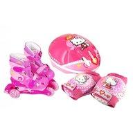 Saica - Set role cu accesorii protectie incluse Hello kitty marimi reglabile 28-31