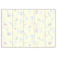 Sobble - Covoras de joaca Marshmallow Dream Pliabila, Eco-friendly, 200x140 cm, Multicolor