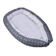 Saro Baby - Salteluta cu protectie laterala Nest, Gri