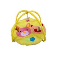 ARTI - Salteluta de joaca Pig & Rabbit toys, Yellow