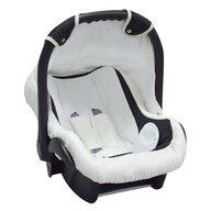 Pj Baby - Scaun auto PJ Comfort, cosulet 0-13 kg, White Black