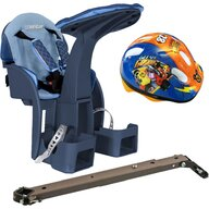 WeeRide - Scaun de bicicleta SafeFront Deluxe si Casca Protectie Mickey  WR10DMK