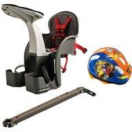 WeeRide - Scaun de bicicleta si Casca Protectie Mickey  WR01DMK