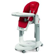 Peg Perego - Scaun de masa 3 in 1, Tatamia Follow Me, Fragola