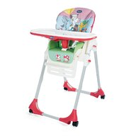 Chicco - Scaun de masa  Polly Easy, 4roti, CountryFarm (Multicolor), 6+luni