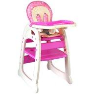 Kidcity - Scaun de masa multifunctional Baby Place Mamakids , Roz cu fluture