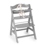 Hauck - Scaun masa din lemn Alpha + B Grey