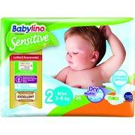 Babylino - Scutece Sensitive N2 3-6kg/26 buc