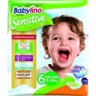 Babylino - Scutece Sensitive N6 15-30kg/15 buc