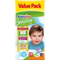Babylino - Scutece Sensitive Valuepack, N7, 17+ kg, 38 buc