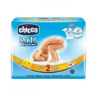 Chicco - Scutece  Dry Fit Advanced Mini, nr.2, 3-6kg, 25buc