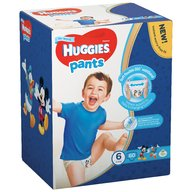 Scutece-chilotel Huggies Box Pants (nr 6) Boy 60 buc, 15-25 kg