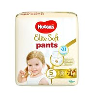Scutece-chilotel Huggies Elite Soft Pants Convi Pack 5,  12-17 kg, 19 buc