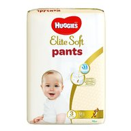 Scutece-chilotel Huggies Elite Soft Pants Mega Pack 3, 6-11 kg, 54 buc