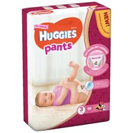 Huggies - Pants D Mega (nr 3) Girl 58 buc, 6-11 kg