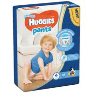 Scutece-chilotel Huggies Mega Pants (nr 4) Boy 52 buc, 9-14 kg
