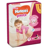 Huggies - Pants D Mega (nr 4) Girl 52 buc, 9-14 kg