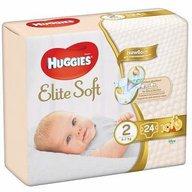 Scutece Huggies Elite Soft (nr 2) Convi 24 buc, 4-7 kg