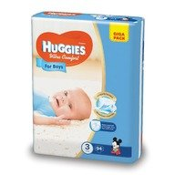 Scutece Huggies Ultra Confort Giga Pack (nr 3) Boy 94 buc, 5-9 kg