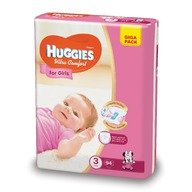 Scutece Huggies Ultra Confort Giga Pack (nr 3) Girl 94 buc, 5-9 kg