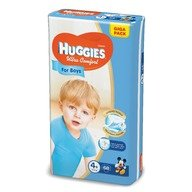 Scutece Huggies Ultra Confort Giga Pack (nr 4+) Boy 68 buc, 10-16 kg