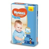 Scutece Huggies Ultra Confort Giga Pack (nr 4) Boy 80 buc, 8-14  kg