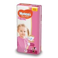 Scutece Huggies Ultra Confort Giga Pack (nr 5) Girl 64 buc, 12-22 kg