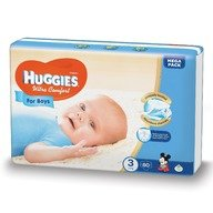 Scutece Huggies Ultra Confort Mega Pack (nr 3) Boy 80 buc, 5-9 kg