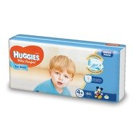 Scutece Huggies Ultra Confort Mega Pack (nr 4+) Boy 60 buc, 10-16 kg