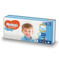 Scutece Huggies Ultra Confort Mega Pack (nr 5) Boy 56 buc, 12-22 kg