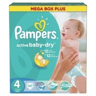 Scutece Pampers Active Baby 4 Mega Box Plus 147 buc