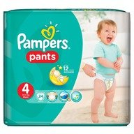 Scutece Pampers Active Baby Pants 4 Carry Pack 24 buc