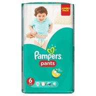 Scutece Pampers Active Baby Pants 6 Jumbo Pack 44 buc
