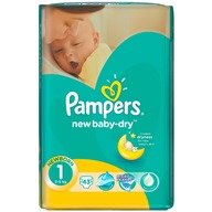 Scutece Pampers New Baby 1 Mini 43 buc