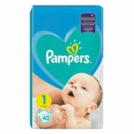 Pampers - Scutece New Baby 1, Mini, 43 buc