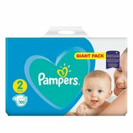 Pampers - Scutece New Baby 2, Giant Pack, 100 buc