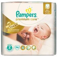 Scutece Pampers Premium Care 2 Jumbo Pack 96 buc
