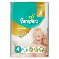 Pampers - Scutece Premium Care 4 Maxi, Small Pack, 18 buc