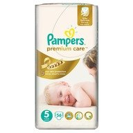 Scutece Pampers Premium Care 5 Junior Jumbo Pack 56 buc