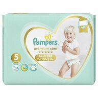 Pampers - Scutece Premium Care Pants 5, Value Pack, 34 buc