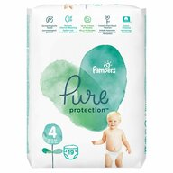 Pampers - Scutece Pure 4, Carry Pack, 19 buc