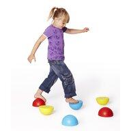 Gonge - Jucarie de echilibru Semisfere 6 buc