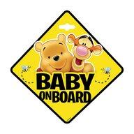 Seven - Semn de avertizare Baby on Board Winnie the Pooh  SV9625