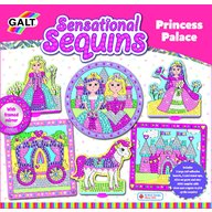 Galt - Sensational Sequins Set 3 tablouri Palatul printesei