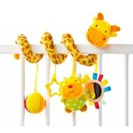 Sensillo Spirala cu jucarii Giraffe pentru patut/carucior