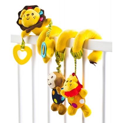 Sensillo Spirala cu jucarii Lion pentru patut/carucior